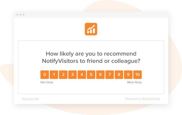 Customer feedback surveys